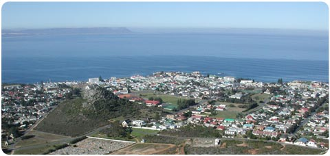 Hermanus from Rotary Way